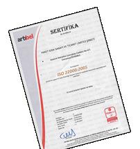 ISO 22000 SATIŞ